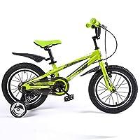 FEIFEI 子供用自転車16インチ青緑ハンドルバー高さ調節可能 ( 色 : 緑 )