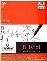 Canson Foundationブリストルパッド(スムース)–11x 14インチ2個SKU # 1842544MA