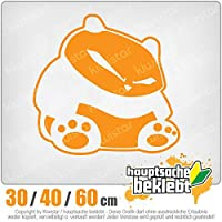 KIWISTAR - Lousy panda 15色 - ネオン+クロム! ステッカービニールオートバイ