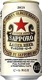 サッポロ 赤星 ラガービール [ 350ml×24本 ]