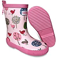Penny Scallan Gumboots Tall Chirpy Bird (Size 24 - Size 7)