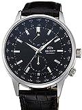 [オリエント]ORIENT 腕時計 AUTOMATIC WORLD TIME POWER RESERVE オートマチック ワールドタイム FA06002B メンズ [逆輸入]
