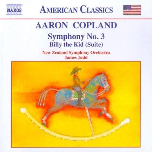 コープランド:交響曲第3番/ビリー・ザ・キッド