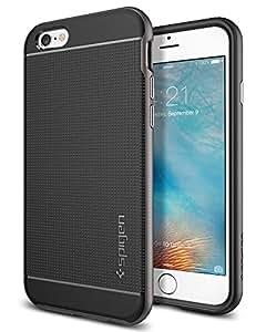【Spigen】 iPhone6s ケース / iPhone6 ケース, [ 二重構造 バンパー ] [ 米軍MIL規格取得 ] [ 落下 衝撃 吸収 ] ネオ・ハイブリッド アイフォン6s / 6 用 カバー (iPhone 6s / 6, ガンメタル)