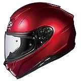 オージーケーカブト(OGK KABUTO)バイクヘルメット フルフェイス AEROBLADE5 シャイニーレッド 569938 XL (頭囲 61cm~62cm)