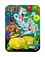 Carolines Treasures APH0932LCB Witch Party with the Ghosts Halloween Glass Large Cutting Board
