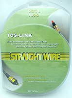 Straightwire tos-link光学式オーディオケーブル–2.0メートル