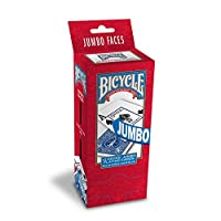 Bicycle Poker Size Jumbo Index Playing Cards (Pack of 12) Red/Blue 【Creative Arts】 [並行輸入品]
