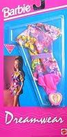バービーDreamwear Fashions Nightwear & Lingerie–Easy toドレス( 1992Arcotoys , Mattel )