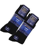 (ハルサク) HARUSAKU 靴下 メンズ ビジネス 黒 ブラック ソックス セット 抗菌 防臭