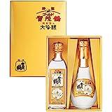 大吟醸 特製ゴールド賀茂鶴丸瓶・角瓶180ml2本セット