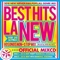 AV8 ALL DJ'S / LA NEW HITS 2018 CHART-OFFICIAL MIXCD-