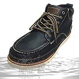 「防水」 Truck Club(トラッククラブ) ブーツ メンズ レインブーツ ワークブーツ ショートブーツ チャッカブーツ T60460-bl-280