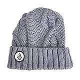 (ボルコム) VOLCOM ビーニー Cable Knit Beanie ケーブルニットビーニー D58314JC GRY F