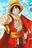 Luffy: Journal: A 110 Page One Piece Themed Colorful Diary and Notebook, Best For Kids, For Teens and For Everyone  (6x9, 110 Pages)