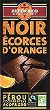 アルテル エコ チョコレート ノワール オランジュ 100g