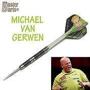 Master Darts MICHAEL VAN GERWEN steel (マイケル・ヴァン・ガーウェン)  (旧モデル) ハードダーツ/スティールダーツ/バレル/矢