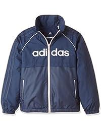 (アディダス) adidas トレーニングウェア ESS ウインドブレーカージャケット (裏起毛) EBT29 [ガールズ]