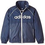 (アディダス)adidas トレーニングウェア ESS ウインドブレーカージャケット (裏起毛) EBT29 [ガールズ] EBT29 CD4957 カレッジネイビー J130