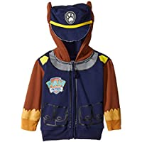 Freeze Children's Apparel Paw Patrol Toddler Boys' Chase Hoodie, Navy Big Face, 4T