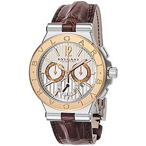 [ブルガリ]BVLGARI 腕時計 ディアゴノブルガリ シルバー文字盤 DG42C6SPGLDCH メンズ 【並行輸入品】