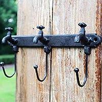 KTYX ヨーロッパの鍛鉄製の壁の蛇口のフック コートハンガー