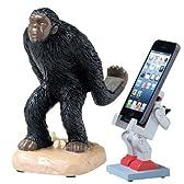 スマートフォン スタンド スマホ ホルダー スタンド スマートフォンスタンド 類人猿 APE SR-1082