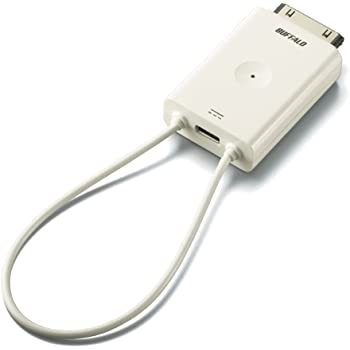 BUFFALO 【2012年発売iPad/iPhone 4Sにも対応】 iPhone/iPod touch/iPad 用 ワンセグチューナー ちょいテレi DH-ONE/IP