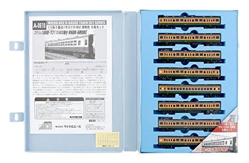 Nゲージ A0610 113系0番台+サロ110-902 湘南色 8両セット