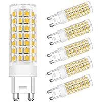 DiCUNO G9 LED電球 セラミックス 50W形相当 全配光タイプ 電球色 LEDランプ 省エネ 6個セット