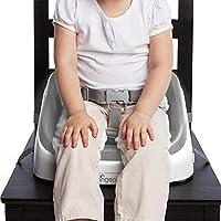 ingenuity インジェニュイティ SmartClean Toddler Booster スマートクリーン・トドラーブースター ブースターシート グレー 16ヶ月~ (10349) by Kids II