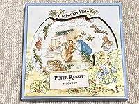新古品 WEDGWOOD PETER RABBIT ウェッジウッド ピーターラビット Merry Christmas 1998 クリスマス プレート お皿 皿 MADE IN ENGLAND