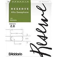 D'Addario  リード レゼルヴ アルトサクソフォーン 強度:2.0(10枚入) ファイルドカット DJR1020