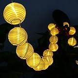 ストリングライト Idealeben パーティー・イベントに装飾用提灯 お誕生日パーティー クリスマス お祭りなどに最適 2.2M 20球 電飾 電球色