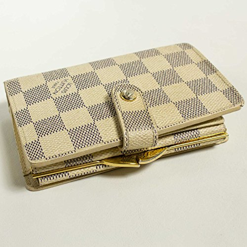 low cost b39a9 353fe ルイヴィトン) LOUIS VUITTON 財布 二つ折り ダミエアズール ...