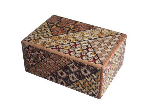 寄木細工 秘密箱10回仕掛け