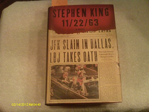By Stephen King 11/22/63 (1st First Edition) [Hardcover]