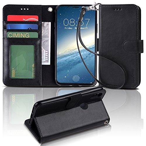 【Arae】 iPhone X ケース 手帳型「 スタンド機能 カードポッケ...