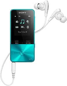 ソニー ウォークマン Sシリーズ 16GB NW-S315 : Bluetooth対応 最大52時間連続再生 イヤホン付属 2017年モデル ブルー NW-S315 L
