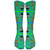 Roller Derby AnimalsWanderlust Air Travel Compression Socks For Men & Women. Guaranteed To Prevent Swelling, Pain, Edema.