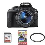 Canon デジタル一眼レフカメラ EOS Kiss X7 レンズキット EF-S18-55mm F3.5-5.6 IS STM付属 + SanDisk Ultra SDHCカード UHS-I Class10 32GB 他2点セット