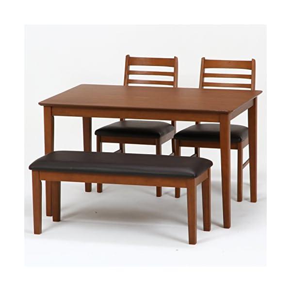不二貿易 ダイニングテーブル スノア 幅120...の紹介画像8