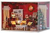 ドールハウス 手作りキットセットミニチュア 完璧なクリスマス