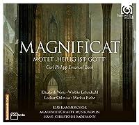 Bach, C.P.E.: Magnificat, Heilig ist Gott, Symphony by Elizabeth Watts (2014-02-11)