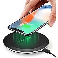 ワイヤレス充電器FAGAO Qi充電スタンド10W QIクイックチャージャーfor iPhone X/iPhone 8/8 Plus/Note 8/S8/S8 Plus/S7/S7 Edge/Nexus/LG G6/Xperiaおよび他のQi充電器。