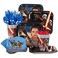 Star Wars Episode VII The Force Awakens Standard Party Supply Kit( Serves 8) [並行輸入品]