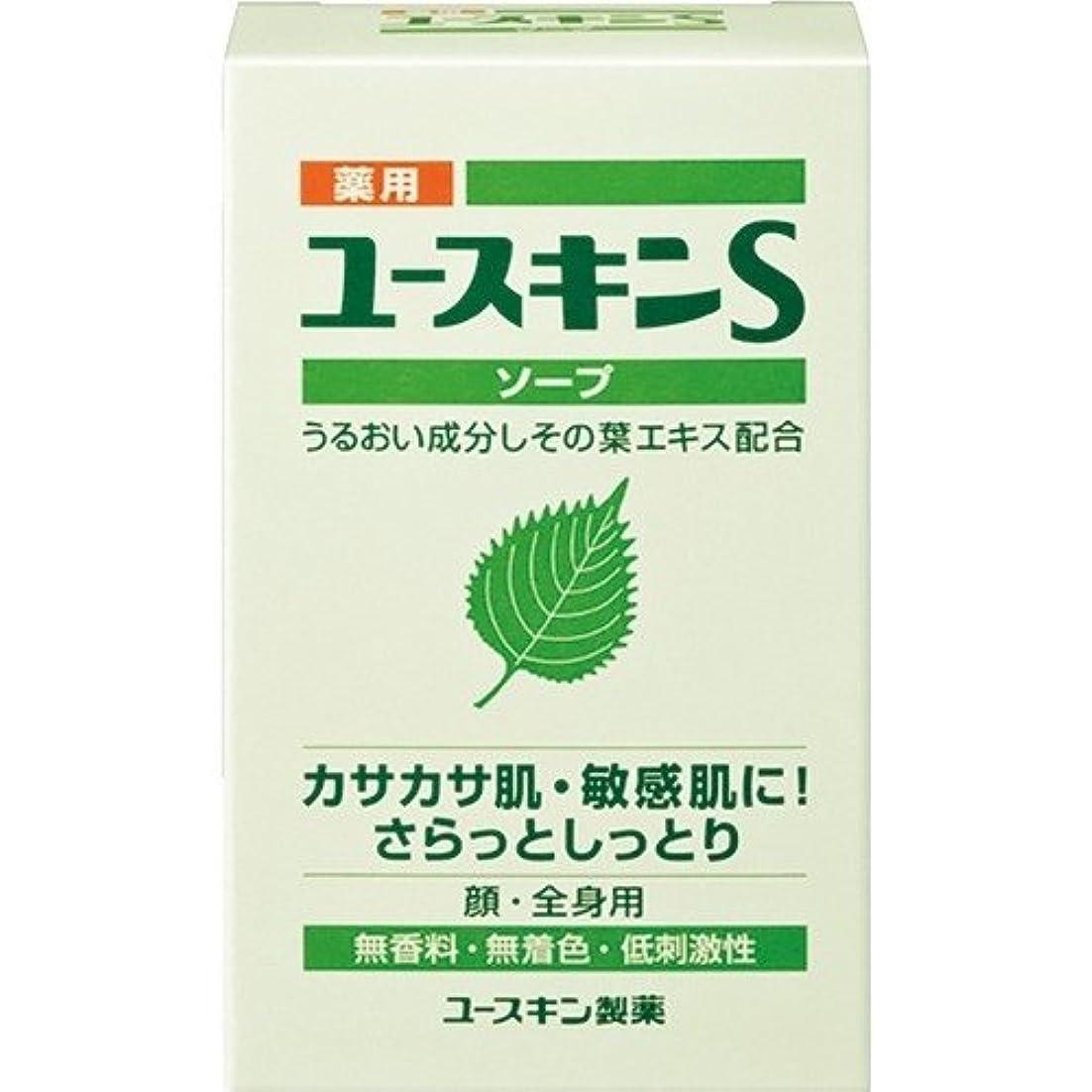 ティーム白い植生薬用ユースキンSソープ