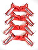 MSP コーナークランプ 固定 木工 溶接 直角 45 90 度 DIY 工具