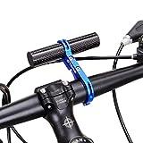 Binmer ( TM ) 31.8MMバイク懐中電灯ホルダーハンドルバー自転車アクセサリーExtenderマウント 22.6 – 25mm ブルー Binmer(TM)