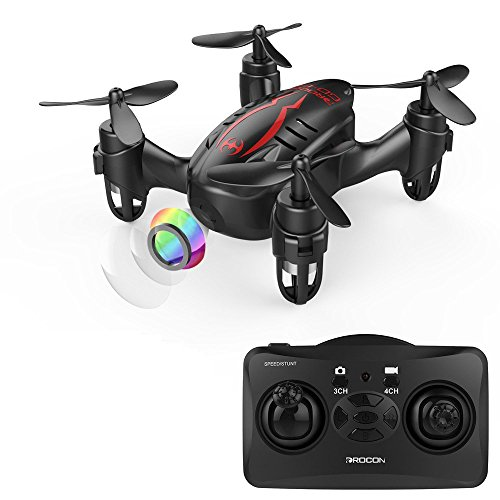 DROCON ドローン HDカメラ付き 720P画質 クアッドコプター ヘッドレスモード 3D宙返り 2.4GHz 4CH 6軸 ミニドローン マルチコプター 日本語説明書付き GD-60